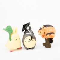 Wholesale 2016 The Hottest Action Figures JapanTOTORO Miyazaki Totoro doll the top automotive interior doll Home Decoration Doll