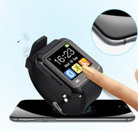 Wholesale FreeShipping Smart Watch Wrist Watch U8 U Watch for all Android ios Phone touch screen connect ios mobile phone lphonesunsung