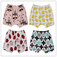 Wholesale Casual Pants Kids Clothing Baby Shorts For Summer Toddler clothes Girls Boys Bloomers Teepee pants Children Shorts hight quality