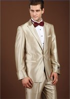 Wholesale 2847 Tracyexp Wedding Events Goom wear Tuxedos Tailcoat Man suits pants champagne color one set size for suit for pants