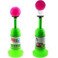 Wholesale Semi Automatic Launcher Kids Baseball Toy Training Set