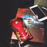 apple pits - Iron man suit for iphone case i6s case Detachable Armor for Mark suit The pit of the stomach light can go on Original authentic best