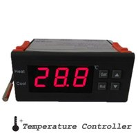 Wholesale Degrees V A m cable Digital LCD Temperature Controller Thermocouple Celsius Degree with Sensor