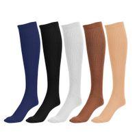 Wholesale COMPRESSION SOCKS Best Athletic Compression Socks For Running Sports Crossfit Flight Travel Better Blood Circulation Socks