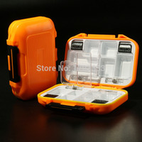Wholesale Fishing Box MC2 Plastic g Fishing Tackle Box Waterproof box thick Fishing tool lure boxes