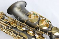alto saxophones - Copy France Henri selmer alto saxophone Reference black nickel gold