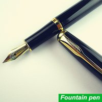 Wholesale Fountain pen Iraurita Golden Clip pens caneta tinteiro Baoer material escolar school supplies