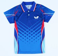 Wholesale New Butterfly table tennis shirts Jerseys Men s pingpong T shirts colorful Table Tennis clothes