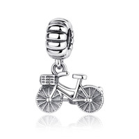 authentic troll bracelet - Authentic Sterling Silver Pandora Charm Tibetan Silver Troll Bead Bike Fit Charm Bracelet Bangle DIY High Quality Jewelry S327