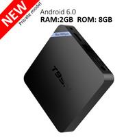 achat en gros de vidéo 4k-Amlogic S905X 2gb 8gb Android TV Smart Box T95N Mini M8S Pro 4K Vidéo Streaming Kodi Media Player prise en charge 3D Blu-ray