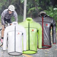 Wholesale Castélli Cycling Raincoat Dust Coat Windbreaker Bike Jacket Jersey Bicycle Raincoat Waterproof Windproof MTB Cycling Raincoat S XL For Sal