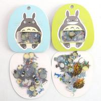 Wholesale 60PCS Pack New Japan Totoro Ghibli series multifunctional sticker pack DIY deco sticker office school supplies