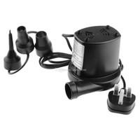 Wholesale HS Electric Air Pump Inflator Camp Bed Mattress Pool V Airpump E00306 SPDH