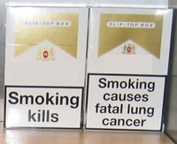 american smoking - HOT Top quality fresh taste smoking kill cigarette Switzerland version red light filter Cigarettes boxes cartons DUTY PAID