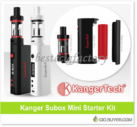 Wholesale Vape Box Mod Starter Kits Mod Box Kit Kanger Subox Mini Starter Kit Clone Kangertech SUBOX Mini Full Kit With Subtank Mini ohm OCC Coil