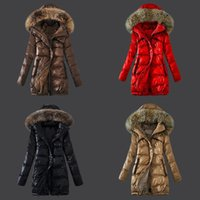 authentic fitted hats - Cheap New Women s Winter Down jacket Authentic Girl Slim Fit Warm Coat High quality Woman Goose Jacket