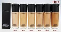 Wholesale Hot M AC Brand Makeup STUDIO FIX FLUID SPF Foundation Liquid ML High Quality Liquid Foundation Base Shadows
