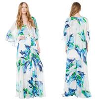 Wholesale 2016 Newest Haoduoyi Bohemian Fashion Long Ladies Maxi Dress Fancy Print Fashion design EU Style Women Dress