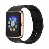 Wholesale GT08 Bluetooth Smart Watch Wearable Devices Support SIM TF Card Smartwatch for Apple Android IOS Phones
