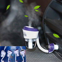 air freshener lot spray - Nanum II Car Humidifiers air freshener V Car charger High Quality Nebulizer Humidifier Mute Home Air Sterilization DHL