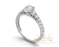 beautiful unique rings - unique and beautiful best quality k rhodium plated gorgeous cluster diamond th wedding anniversary rings for women BER0605