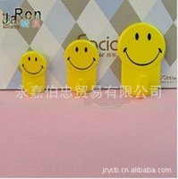 Wholesale Bo Zhong trade cute smile strong sticky Towel Hook large and medium small into the g