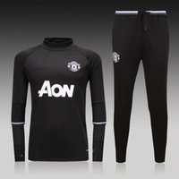 good shirts - good top thai quality MancHESTER jerseys unITED Training suit black Long sleeve football shirt