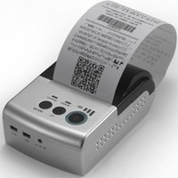 Wholesale Silver Black inch mm mPOS Mini Wi Fi Mobile Thermal Receipt Printer for Android iOS devices and Windows PC Taxi Receipt Invoice Printer