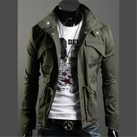 Wholesale New Autumn Winter Men s Cotton Jackets Stand Collar Mens Jackets Fashion Casual Outwear for Men CP00022