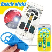 apple assist - Poke Go Mon Phone Case For Iphone Protector Catcher D Printed Guide Sight Aim Assist Catcher For Iphone7 Plus Samsung Note7 ON5