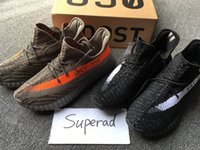 Cheap 2016 Adidas Yeezy 350 Boost V2 Beluga Sply 350 Black White Men Women Running Shoes Kanye West Yezzy Boost 350 Yeezys Yzy Season