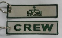 Wholesale Kingdom Crew Aviation Luggage Motorcycle Pilot Crew Bag Tag x cm