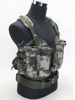 best tactical vests - Airsoft tactical combat protective best military outdoor training tactical vest camouflage paintball vest for men one size