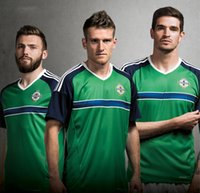 authentic uniforms - top quality authentic EuroCup Northern Ireland uniform Home man jersey shirt