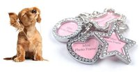 Wholesale Pet supplies Pet tags hang tags ID card Set auger dog tag Pet tags Dog Id Address Name Label Tag