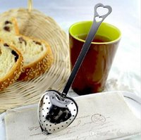 Wholesale Hot New arrivel Tea Time Heart Tea Infuser spoon with white giftbox Tea Time Heart Tea Infuser spoon Wedding Favors DDD2425