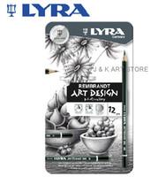 art rembrandt - Lyra Rembrandt Art Design Graphite Pencil Set High quality Lyra Rembrandt art design pencil