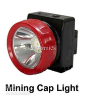 Wholesale Cordless LED Mining Cap Light Head Lamp LD with headband wall charger and car charger