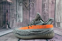 Light Pink Yeezy boost 350 v2 black and green Youth