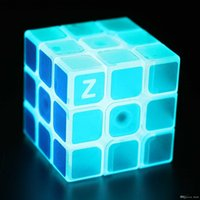 Wholesale luminous Magic Cube cm x3x3 Puzzle Magic Game Rubik Cube Magic Cube Classic Toys Toy Adult and Children Educational Toys gifts for kids