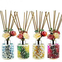 aroma scent - Flower Natural Scents Essential Oils And Synergies Aroma Diffuser Rattan Stick For Aroma Diffuser Cotton Fresh Reed Diffuser Code