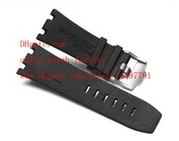 Cheap Luxury Black Rubber Strap 28mm Use A&P Royal Oak Offshore Diver AP15703 15703ST.OO.A002CA.01 High Quality Bands Mens Watch Men's Watches