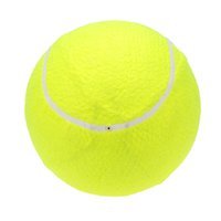 Wholesale Popualr Tennis Ball Outdoor Training Game Playing Ball quot Oversize Giant Ball for Children Adult Pet Fun Tennis Accessory