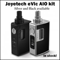 Precio de Evic joytech-100% original Joyetech EVIC AIO Starter Kit Capacidad 75w con 3,5 ml Evic AIO Etiqueta QCS LVC Clapton SS316 Notch bobina JOYTECH Evic-AIO