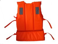 Wholesale Kids Children Orange Reflective Warning Useful Life Jacket Prevention Foam Swimming Drifting Vest Suit With Survival Whistle