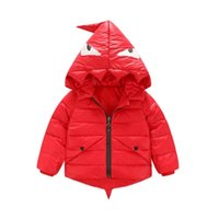 Wholesale 2016 Fashion Girls and Boys Jackets winter down Coats Hooded Thick Warm Parka Winter Children Outerwear years MC0393