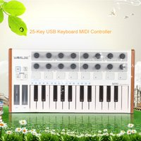 Wholesale Ultra Portable Mini Professional Key USB MIDI Drum Pad and Keyboard Controller High Quality