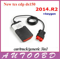 Wholesale New Vci R2 R1 Free activate cdp without bluetooth TCS cdp pro obd2 OBDII OBD II Car Auto Scanner CARs TURCKs