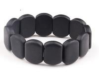 bian stone needle - row bracelet Real black jade Byanshi Men Natural stone needle Bracelet bian stone bracelet healthcare treatment