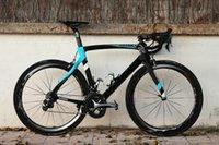 Wholesale 2017 Hot sale Carbon complete bicycle carbon road bike team sky full carbon fiber bike complete bicycle frameset wheels saddle handlebar